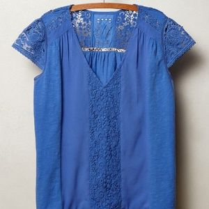 Meadow Rue Micaela Lace Top